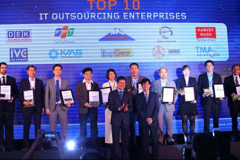 Vietnam IT Outsourcing Awards presented to 33 firms