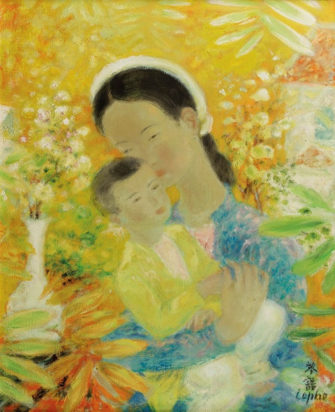 Untold stories about Vietnam's most expensive paintings, Vu Cao Dam, Le Pho, Mai Trung Thu, Le Thi Luu