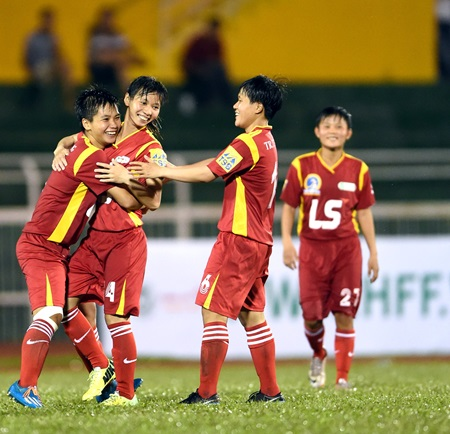 HCM City beat Hong Kong in women's football tournament