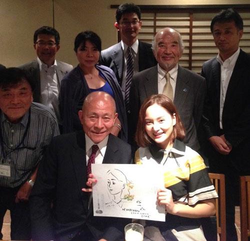 Vietnamese actress nominated ambassador of Japan's Okinoshima island