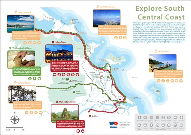 Map of tourism products in Vietnams central coast launched News – Travel Map Of Vietnam