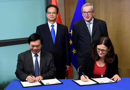 Vietnam, EU conclude negotiations on free trade agreement