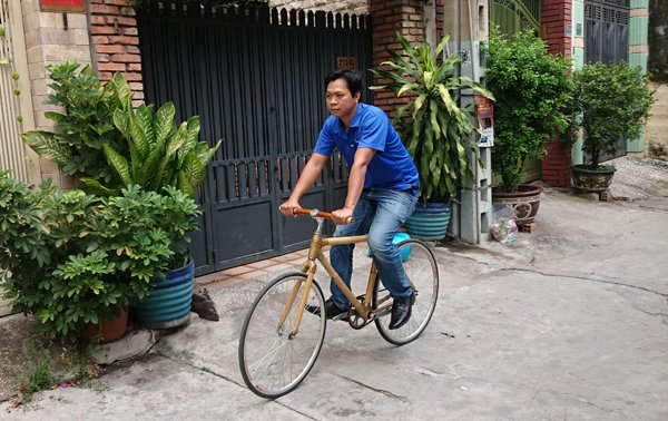 Vietnam, bamboo bikes, Pham Minh Tri, vietnam economy, vietnamnet bridge, english news about Vietnam, Vietnam news, news about Vietnam, English news, vietnamnet news, latest news on vietnam