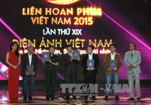 Four Golden Lotus Awards presented at 19th Vietnam Film Festival