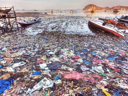 Plastic waste discharge in ocean at high level in Vietnam