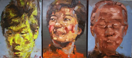 Dong Nai painter wins painting contest for young artists