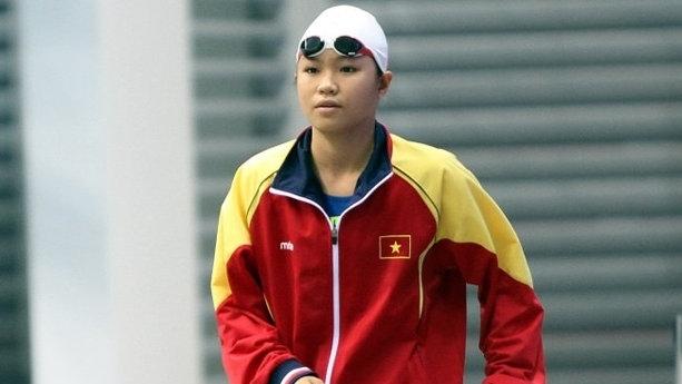 Phuong Tram – an emerging star of Vietnamese swimming