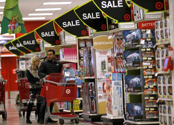 U.S. retailers at risk of missing modest holiday sales goals