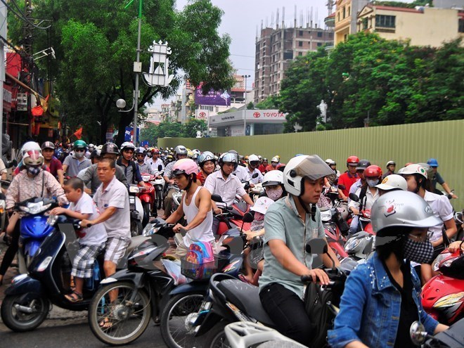 Hanoi pushes for private vehicle reduction, hanoi traffic, traffic jam in hanoi, social news, vietnamnet bridge, english news, Vietnam news, news Vietnam, vietnamnet news, Vietnam net news, Vietnam latest news, Vietnam breaking news