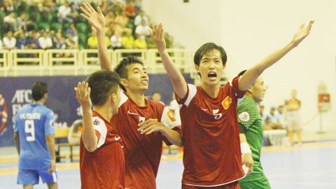 VN futsal team called up for 2016 Asian Football Confederation Futsal Champs