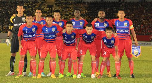 Binh Duong FC named among Asia's five best teams