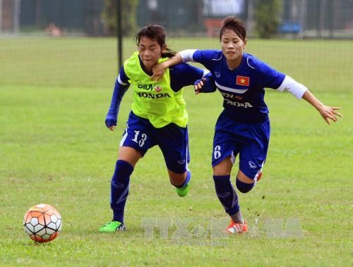 VN women's football team called for Rio Olympics qualifier