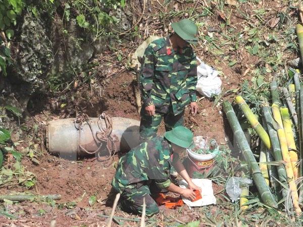Wartime, UXOs, landmines, explosive materials, Vietnam economy, Vietnamnet bridge, English news about Vietnam, Vietnam news, news about Vietnam, English news, Vietnamnet news, latest news on Vietnam, Vietnam