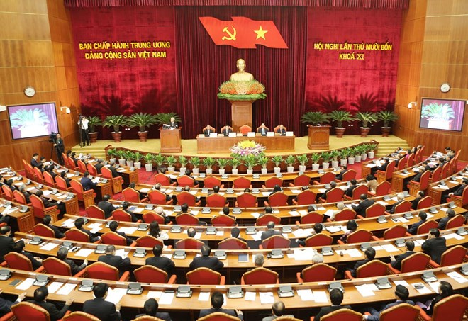 Party Central Committee's 14th meeting opens