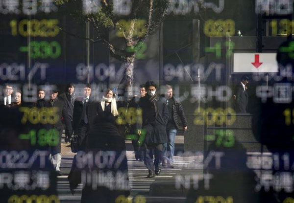 Asian shares drop to 2011 levels as oil slump intensifies