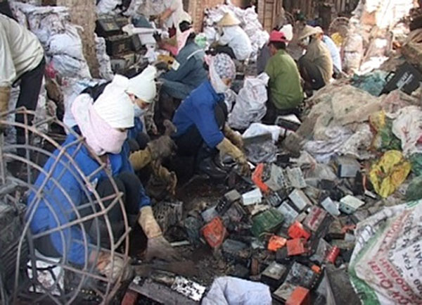 Cam Xa Commune dubbed VN's 'electronic waste capital'