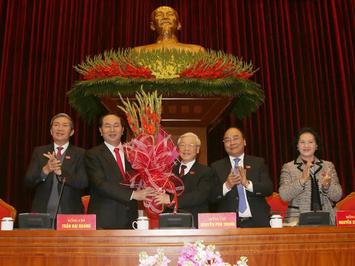Mr. Nguyen Phu Trong re-elected Party Secretary General, Government news, politic news, vietnamnet bridge, english news, Vietnam news, news Vietnam, vietnamnet news, Vietnam net news, Vietnam latest news, vn news, Vietnam breaking news
