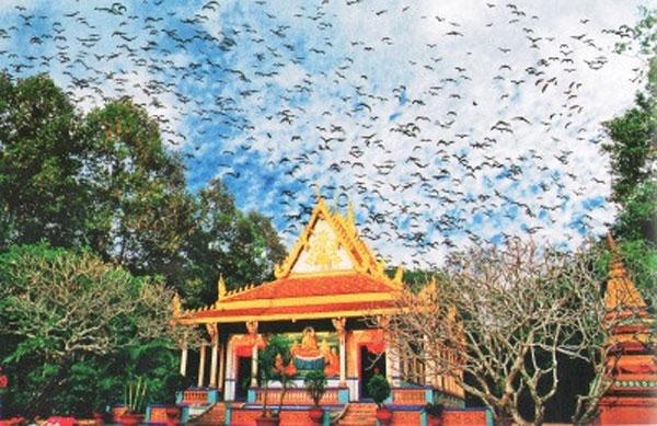 Khmer pagodas, typical architecture, Khmer village, Vietnam economy, Vietnamnet bridge, English news about Vietnam, Vietnam news, news about Vietnam, English news, Vietnamnet news, latest news on Vietnam, Vietnam