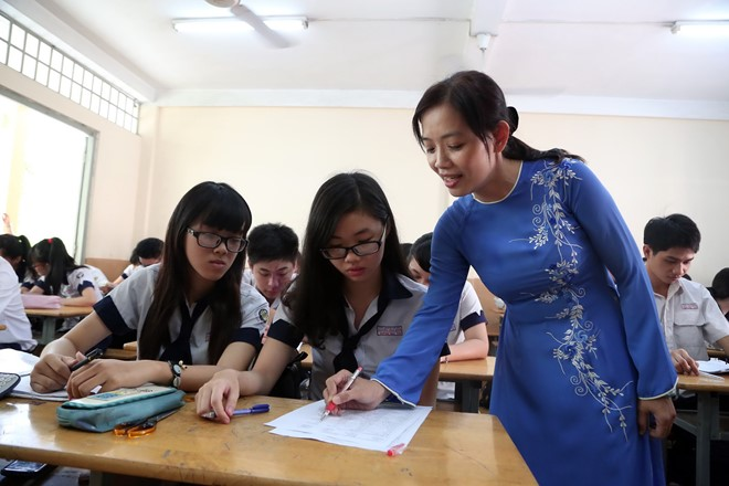 Vietnam cultivates talented students with 'skimming' method