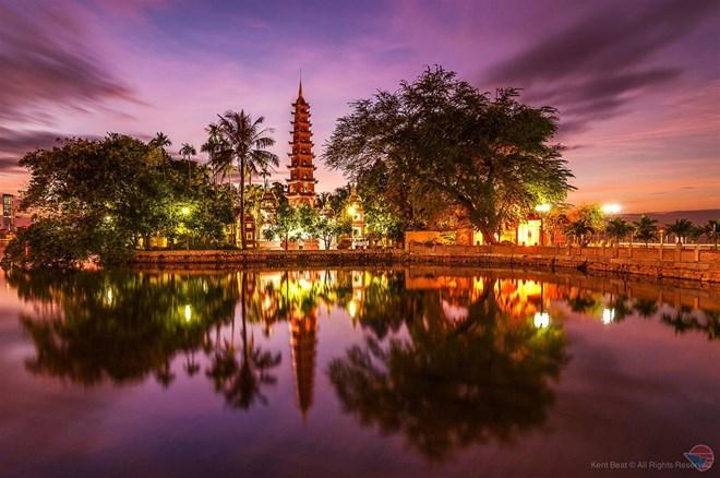 Famous pagodas in Hanoi