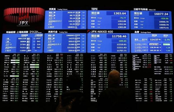 Asia shares gain as crude oil bounce boosts risk assets