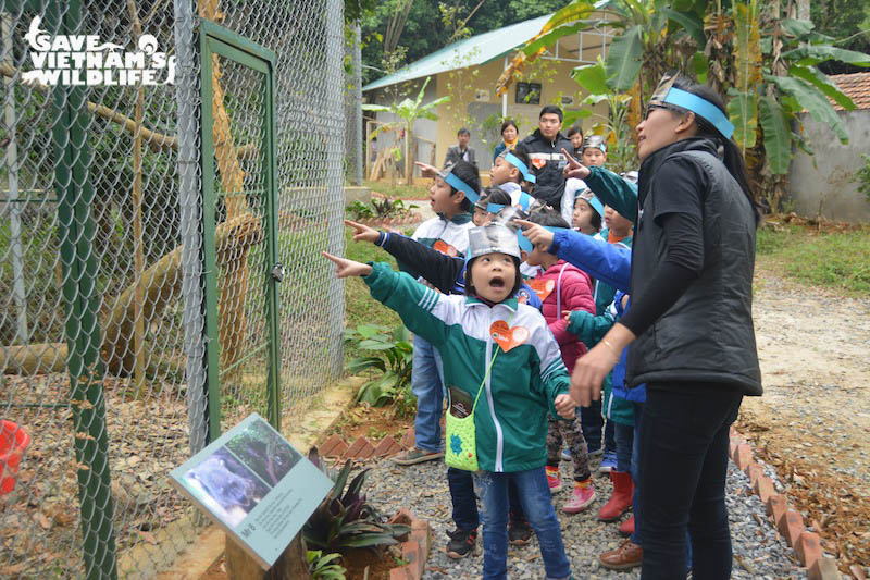 first carnivore and pangolin conservation education centre opens