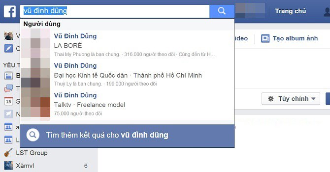Why are famous people on Facebook becoming 'Vu Dinh Dung'?