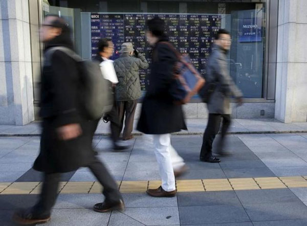 Asia shares nudge up as G20 talks, oil holds gains
