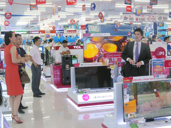 Vietnam economy, Vietnamnet bridge, English news about Vietnam, Vietnam news, news about Vietnam, English news, Vietnamnet news, latest news on Vietnam, Vietnam, FDI, home appliance centers, Nguyen Kim