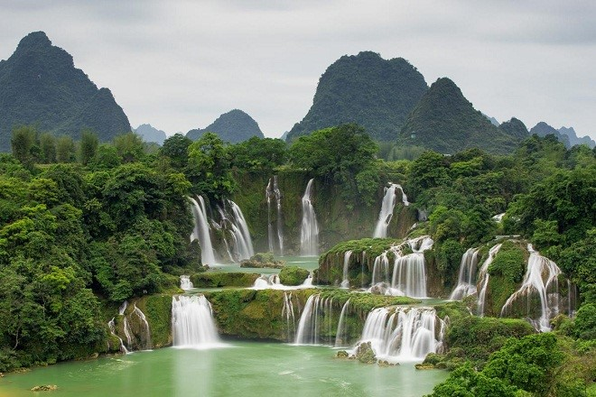 Image result for vietnam waterfall