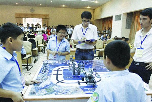 Parents urge children to go back to basics