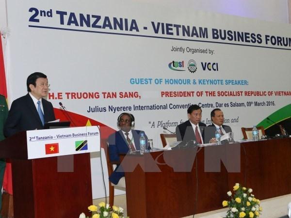 Vietnamese, Tanzanian Presidents hold talks, Government news, politic news, vietnamnet bridge, english news, Vietnam news, news Vietnam, vietnamnet news, Vietnam net news, Vietnam latest news, vn news, Vietnam breaking news