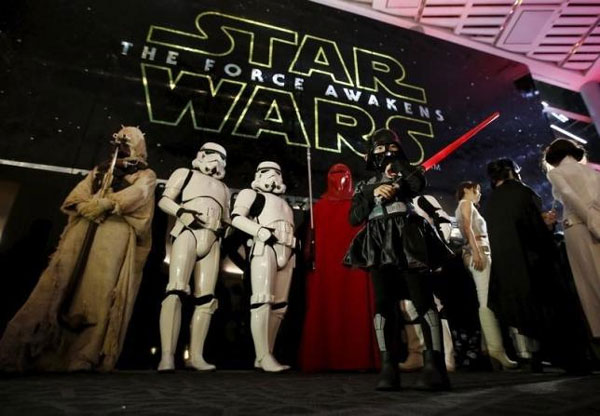 Force awakens for 'Star Wars' with 11 MTV Movie Award nods