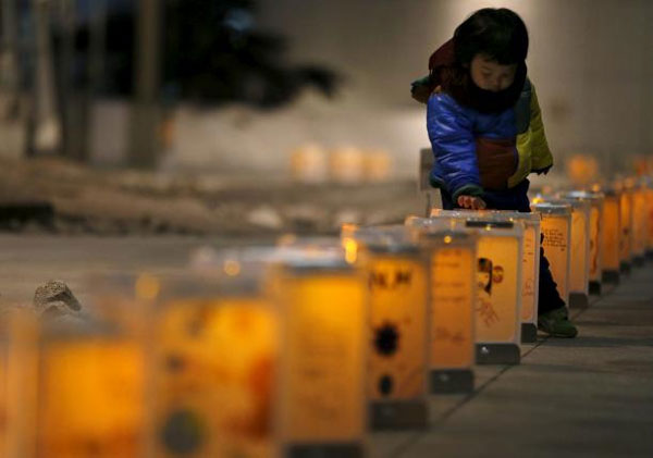 'Hearts are in pieces' five years after tsunami hits Japan