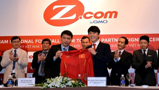 Japan's Z.com becomes new sponsor for VN national football team