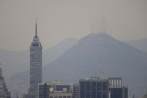 Mexico City issues pollution alert over high ozone concentration