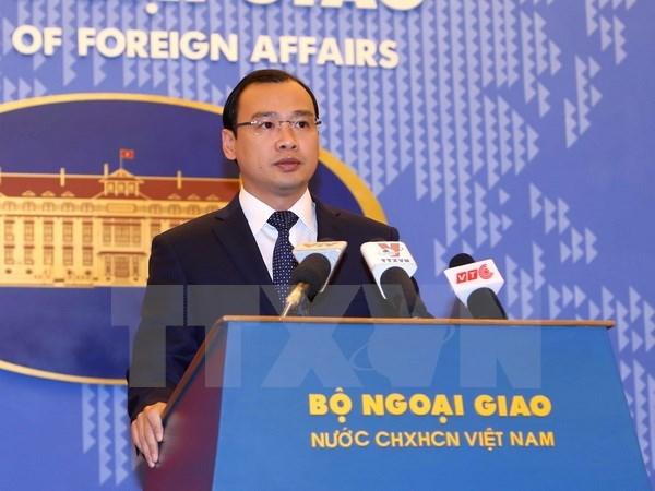 China's construction on Hoang Sa violates Vietnam's sovereignty, east sea, south china sea, Government news, politic news, vietnamnet bridge, english news, Vietnam news, news Vietnam, vietnamnet news, Vietnam net news, Vietnam latest news, vn news