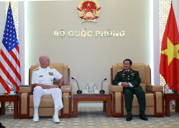 Vietnamese General receives US Commander, Government news, politic news, vietnamnet bridge, english news, Vietnam news, news Vietnam, vietnamnet news, Vietnam net news, Vietnam latest news, vn news, Vietnam breaking news