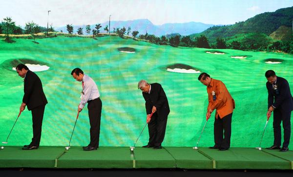 The first golf course in Ba Na, vietnam economy, business news, vn news, vietnamnet bridge, english news, Vietnam news, news Vietnam, vietnamnet news, vn news, Vietnam net news, Vietnam latest news, Vietnam breaking news