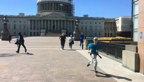 Man shot by police at Capitol complex