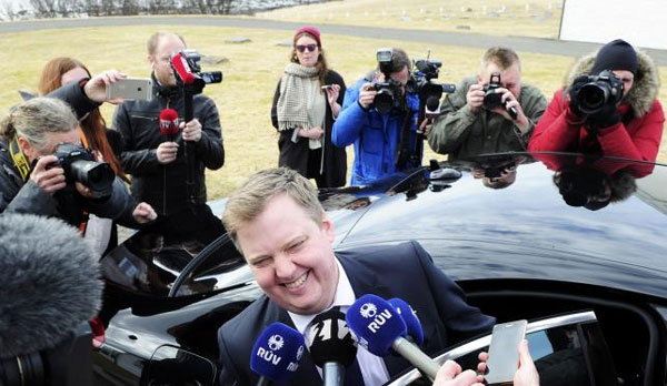 Iceland's leader resigns, first casualty of Panama Papers