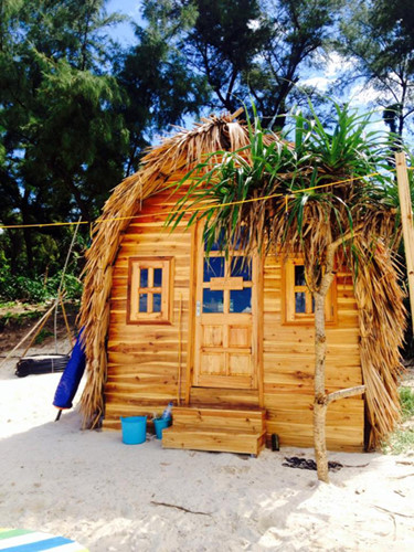 Sweet Wood And Bamboo Tents For Tourists In Vn News