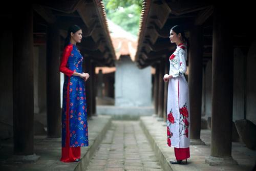 Spanish fashion designer on Vietnam's traditional Ao Dai, Vietnam culture, Vietnam tradition, vn news, Vietnam beauty, news Vietnam, Vietnam news, Vietnam net news, vietnamnet news, vietnamnet bridge