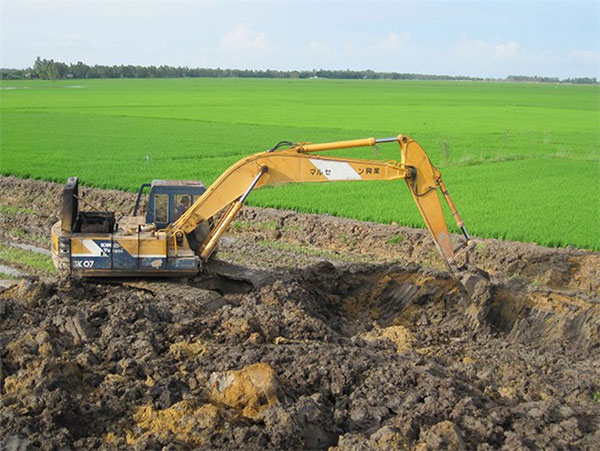 Mekong Delta, erect dikes, Vietnam economy, Vietnamnet bridge, English news about Vietnam, Vietnam news, news about Vietnam, English news, Vietnamnet news, latest news on Vietnam, Vietnam