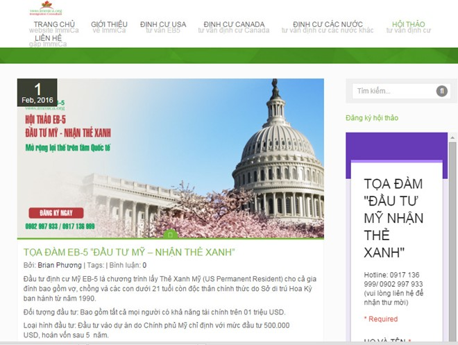 Us500000 for a green card news vietnamnet us500000 for a green card vietnam economy business news vn reheart Image collections