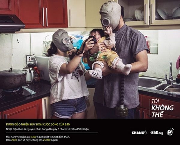 Artists' photo campaign a warning about devastating effects of pollution