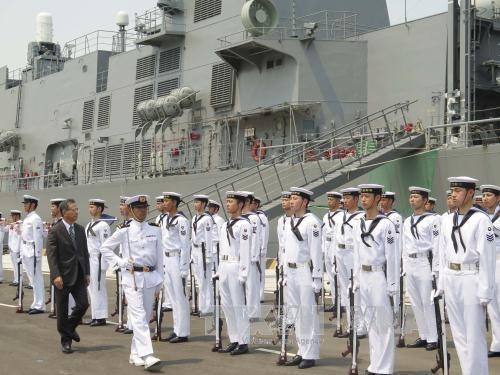 Japanese maritime self-defence vessels visit Vietnam, Government news, politic news, vietnamnet bridge, english news, Vietnam news, news Vietnam, vietnamnet news, Vietnam net news, Vietnam latest news, vn news, Vietnam breaking news