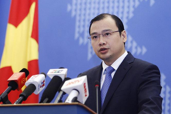 Vietnam demands China's withdrawal of jet fighters from Hoang Sa, le hai binh, Government news, politic news, vietnamnet bridge, english news, Vietnam news, news Vietnam, vietnamnet news, Vietnam net news, Vietnam latest news, vn news,