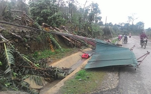 Hailstorms, whirlwinds wreak havoc in many locations in northern VN