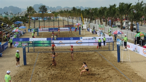 Asian Women's Beach Volleyball Championship to kick off in Quang Ninh
